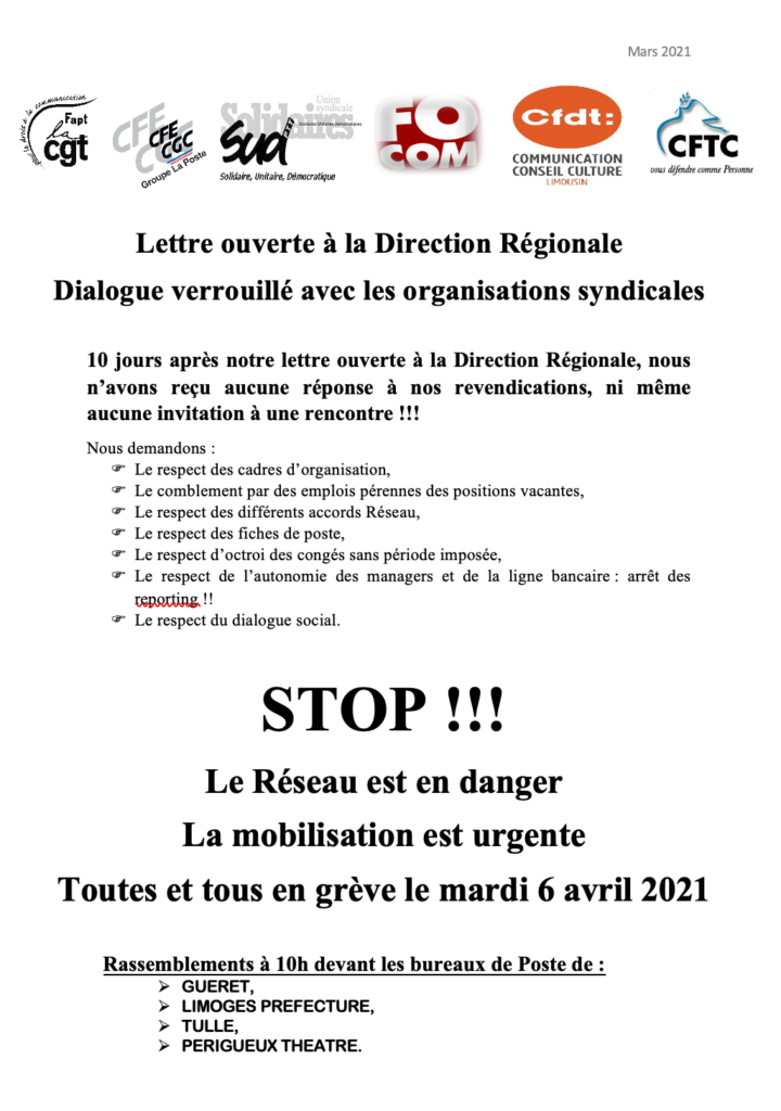 Tract 06 avril 2021